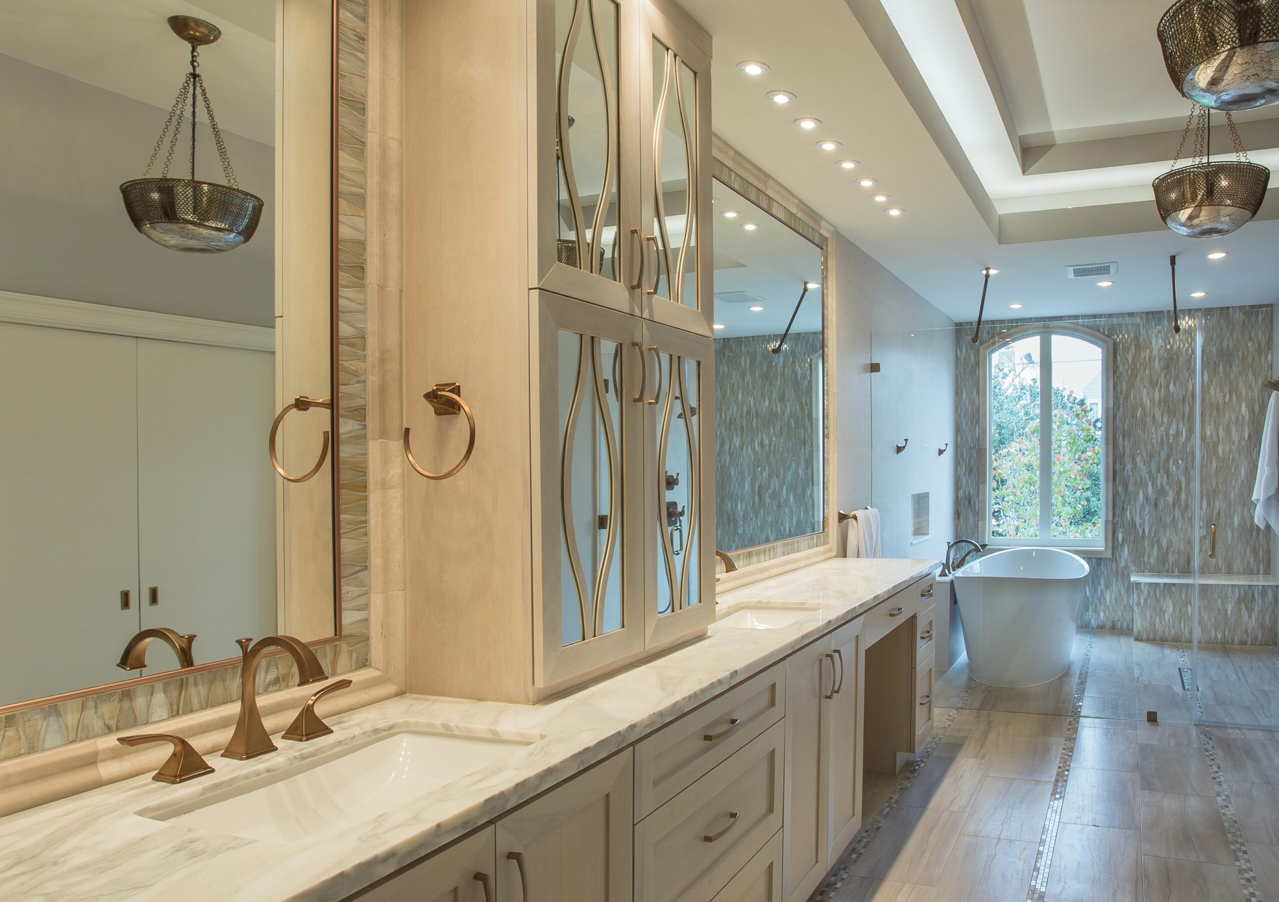 River oaks houston texas tranquil spa master bathroom for Bathroom ideas houston