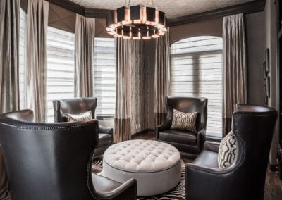 Meadows   Downtown Houston   Elegant Masculine Transitional Remodel
