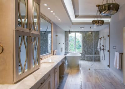 River Oaks | Houston, Texas | Tranquil Spa Master Bathroom Remodel