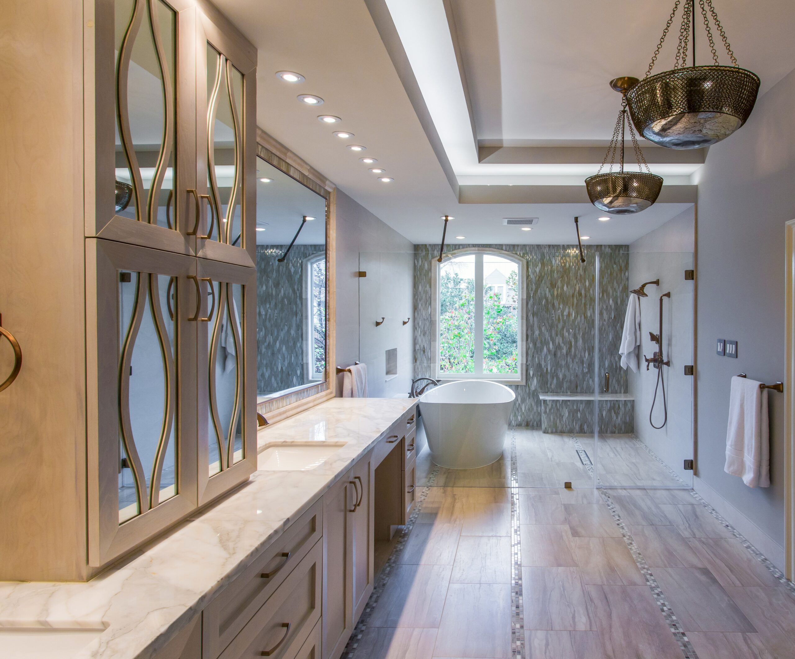 river oaks houston texas tranquil spa master bathroom remodel - Houston Tx Bathroom Remodeling