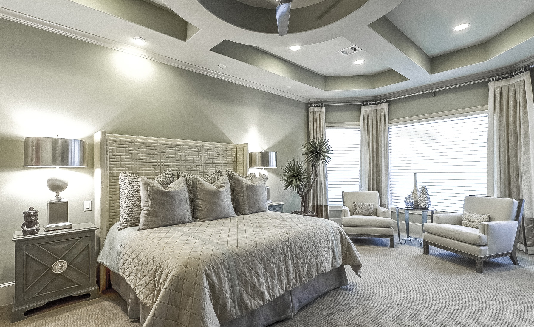 Master Bedroom | New Construction | Design & Build | Spring Valley | Houston, TX