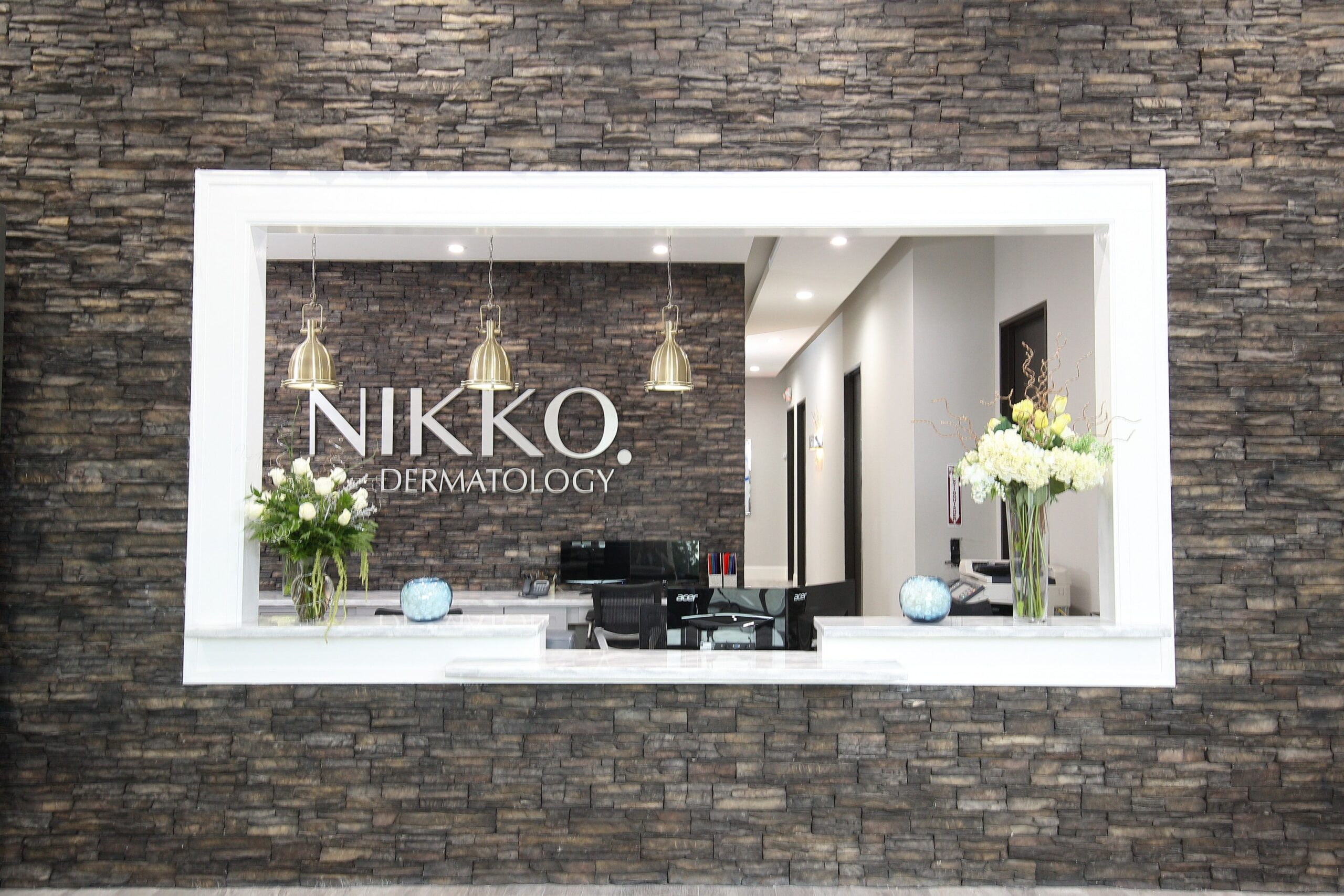 Nikko Dermatology | Classy Cobalt | Commercial Remodel | Cypress, TX
