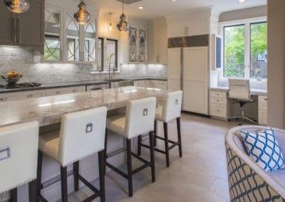 White Kitchen & Master Bath   1920's Bolsover Home Remodel   2015