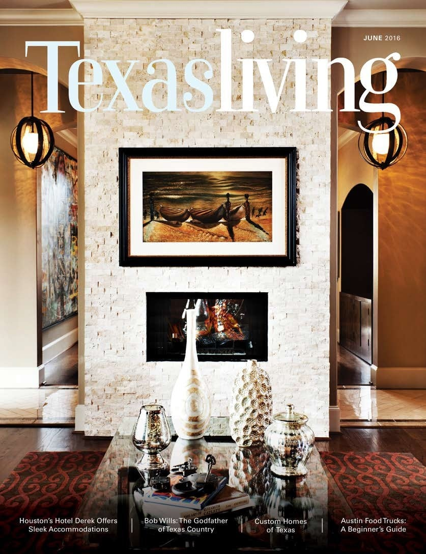 One Of Houstons Top Interior Designers Magazine Cover And Online Features Texas Living With Sweetlake