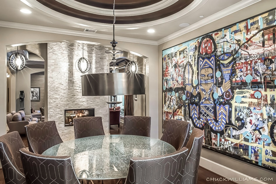 Dining Room | New Construction | Design & Build | Spring Valley | Houston, TX