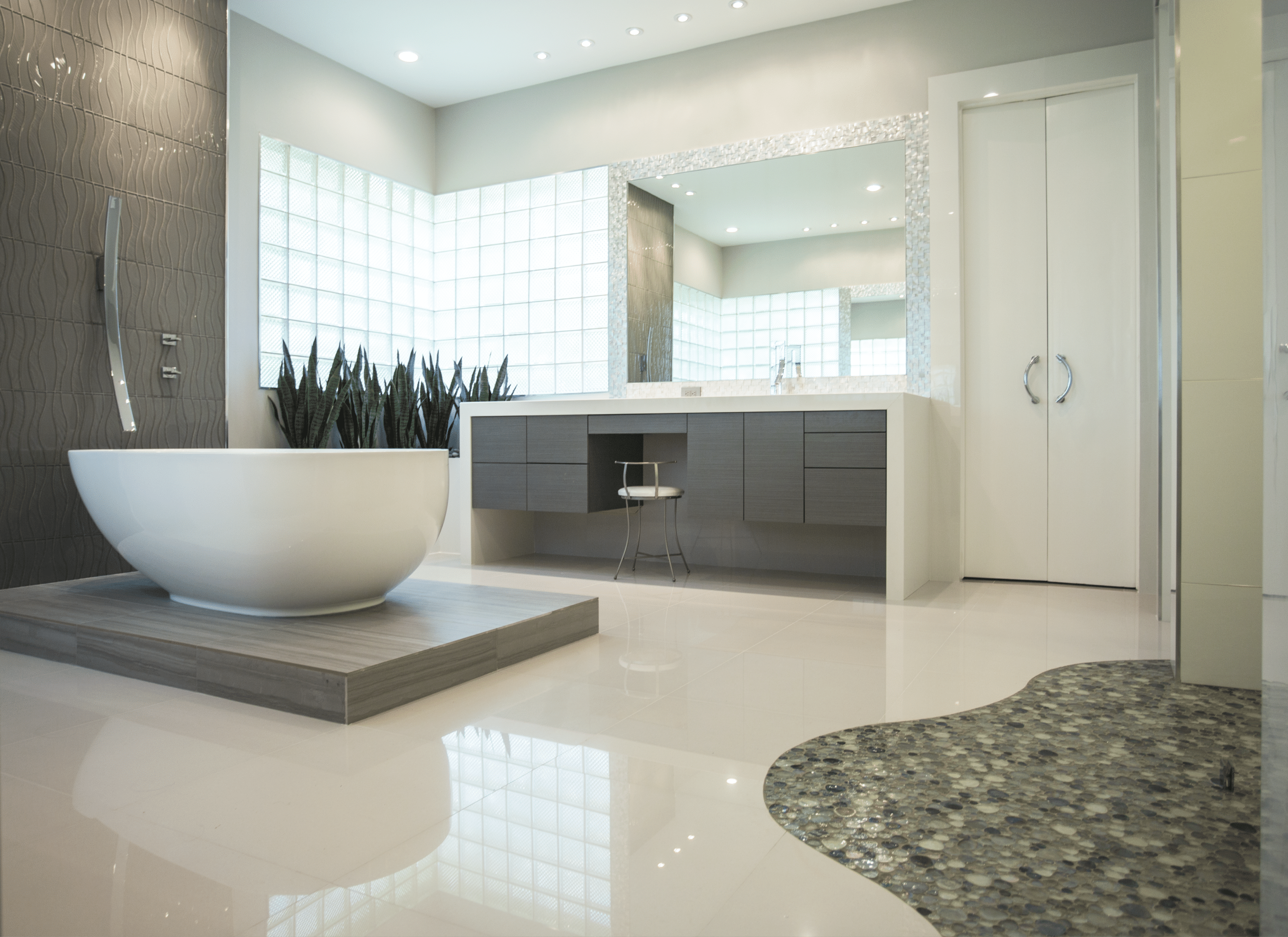saveemail memorial modern master bath remodel houston tx 2015