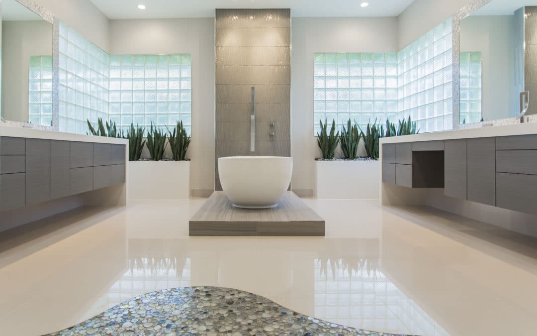 Memorial Modern Master Bath Remodel