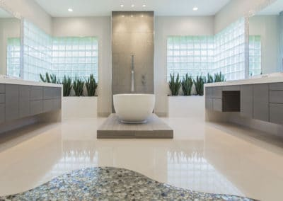Memorial Modern Master Bath Remodel | Houston, TX | 2015