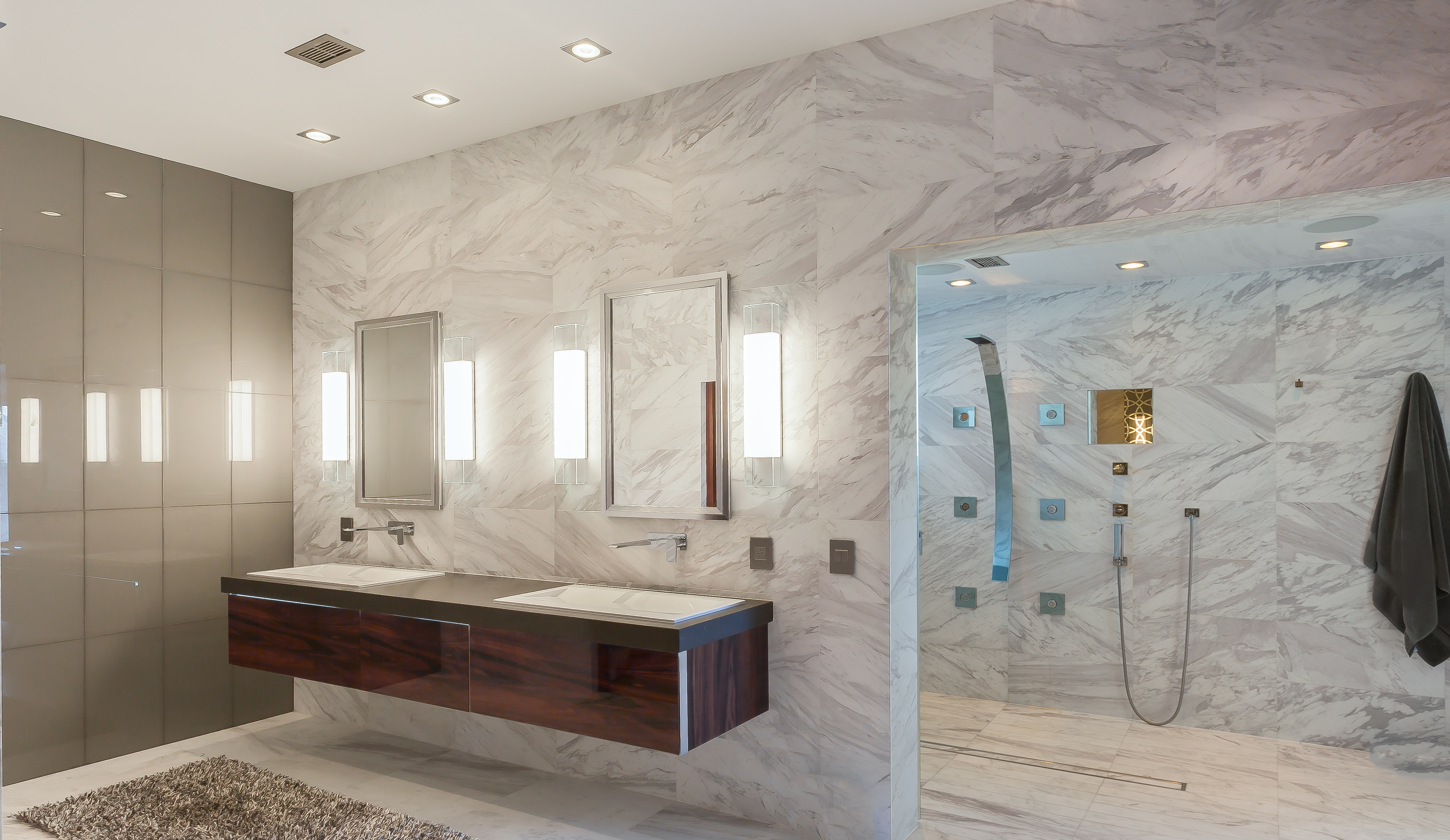 Ultra Modern Master Bath