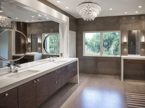 West University Master Bathroom | Houston, Texas | 2015