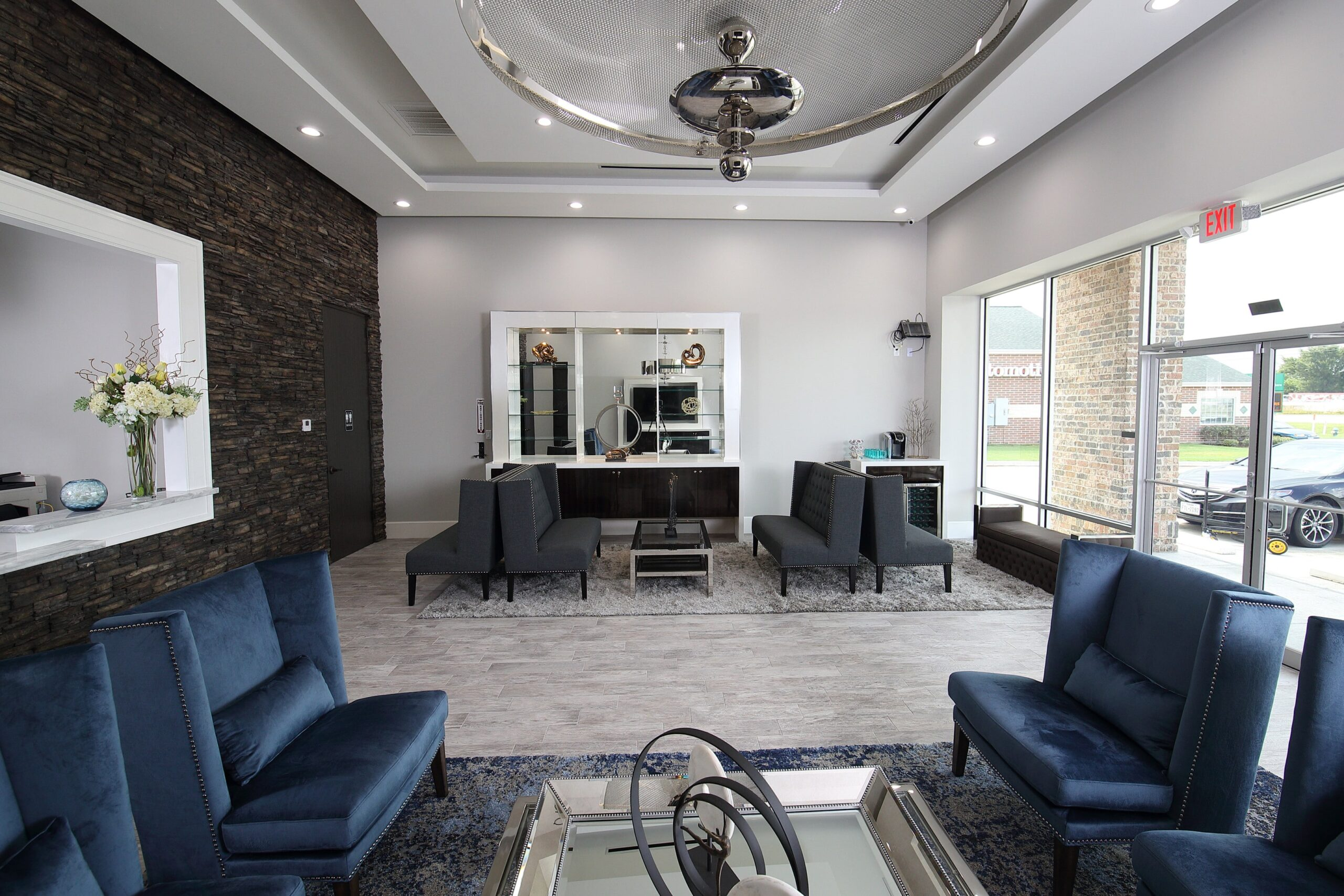 Commercial | Nikko Dermatology | Classy Cobalt | Commercial Remodel | Cypress, TX | 2016