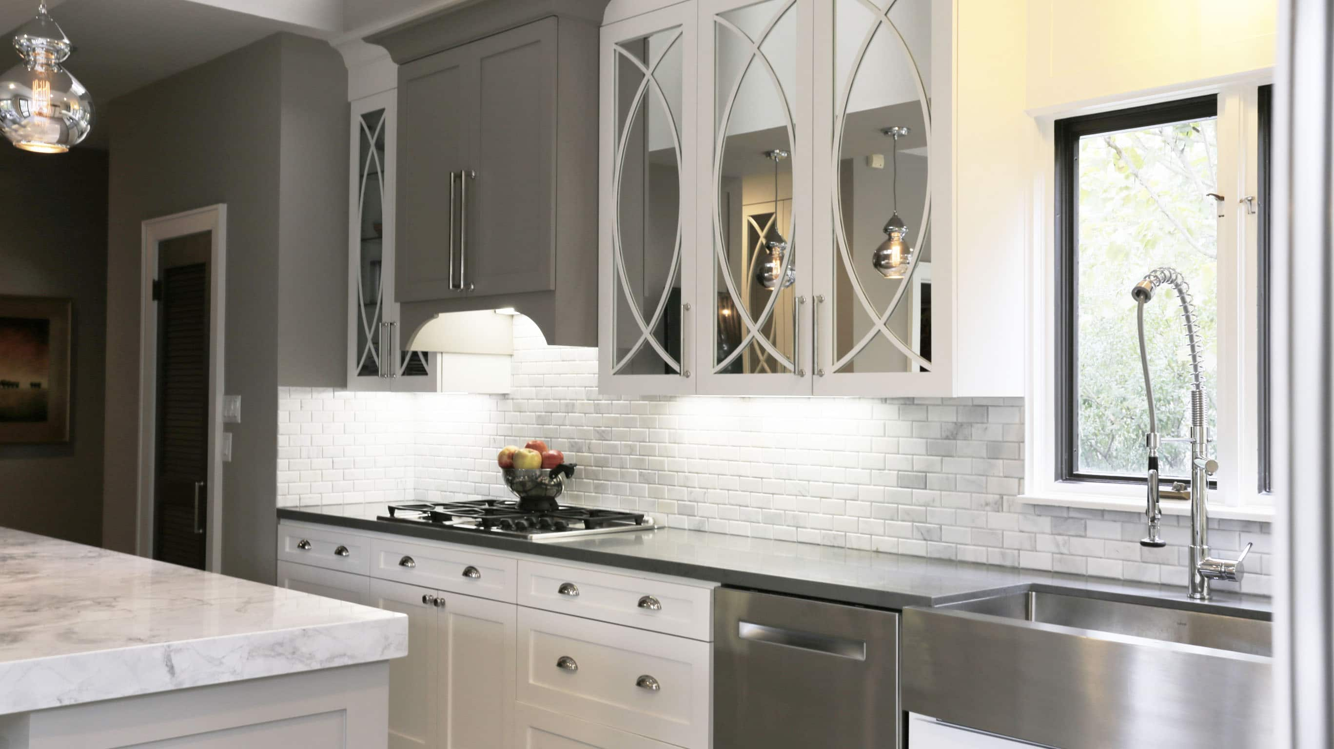 White Kitchen | 1920's's Bolsover Home Remodel | Houston, TX | 2015