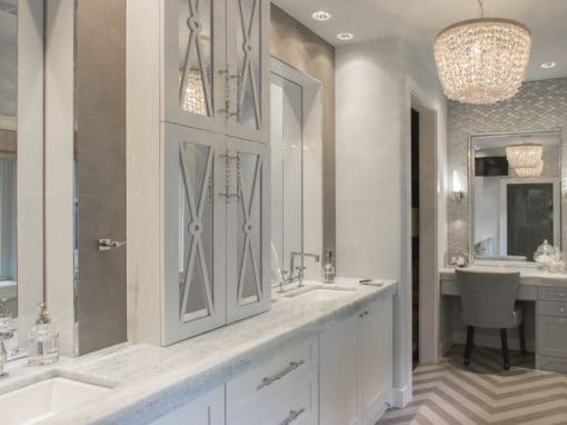 White Kitchen & Master Bath | 1920's Bolsover Home Remodel | 2015