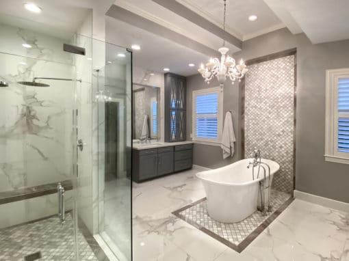 Luxury Bath Remodel Houston Memorial 77024