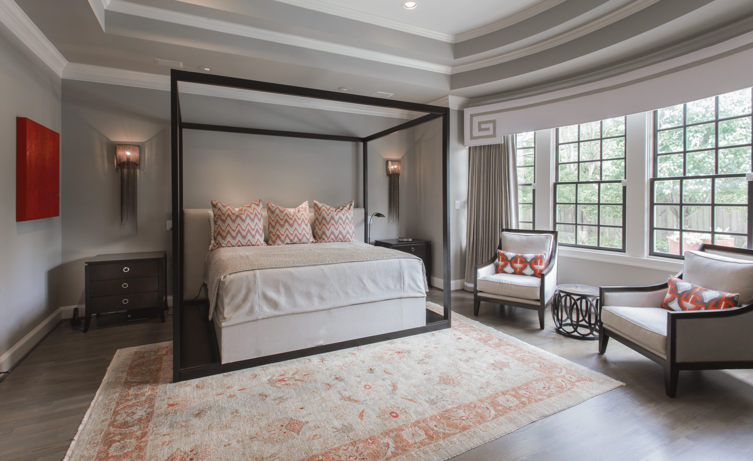 Master Bedroom | Memorial Home Renovation | Houston, TX | 2016